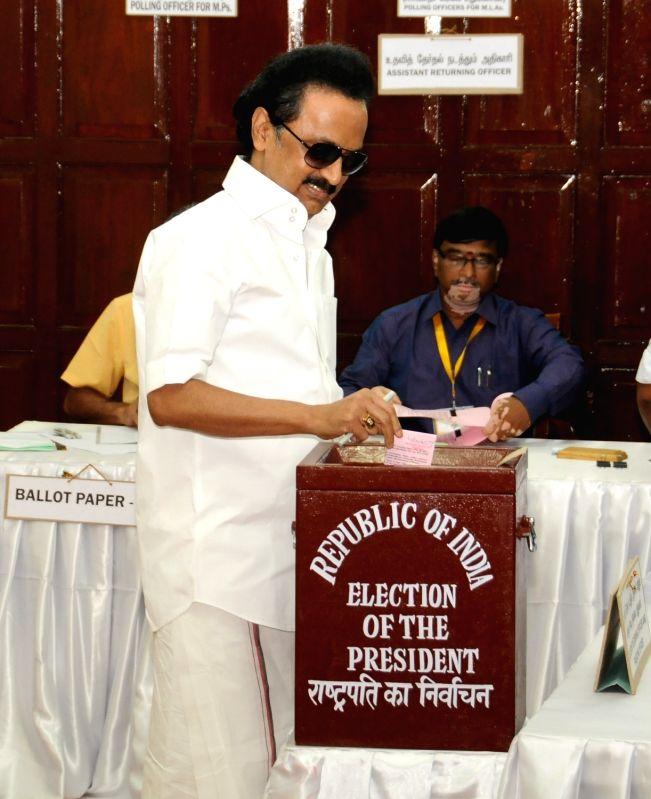 Presidential Polls- MK Stalin