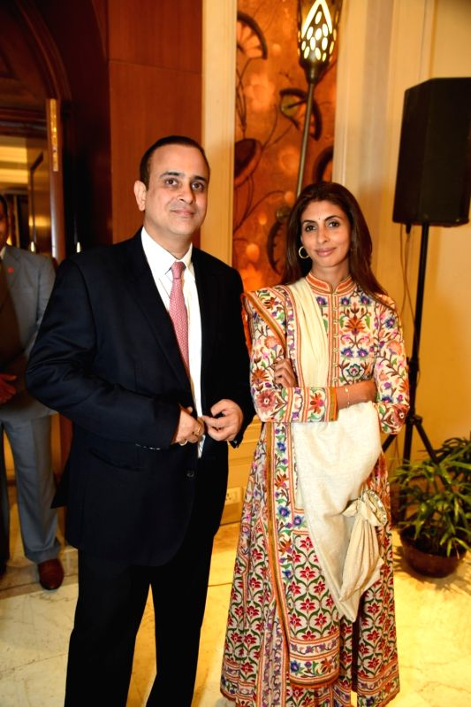 Escorts Ltd Chairman Nikhil Nanda along with his wife Shweta Bachchan Nanda. (File Photo: IANS) - Shweta Bachchan Nanda