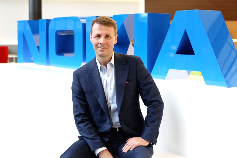 ESPOO (FINLAND), April 18, 2017 Chairman of Nokia Risto Siilasmaa poses for a picture during an interview with Xinhua News Agency at the Nokia's headquarters in Espoo, Finland, on April ...