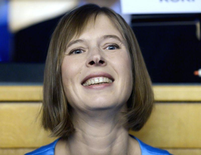Estonia President Kersti Kaljulaid. (File Photo: IANS)