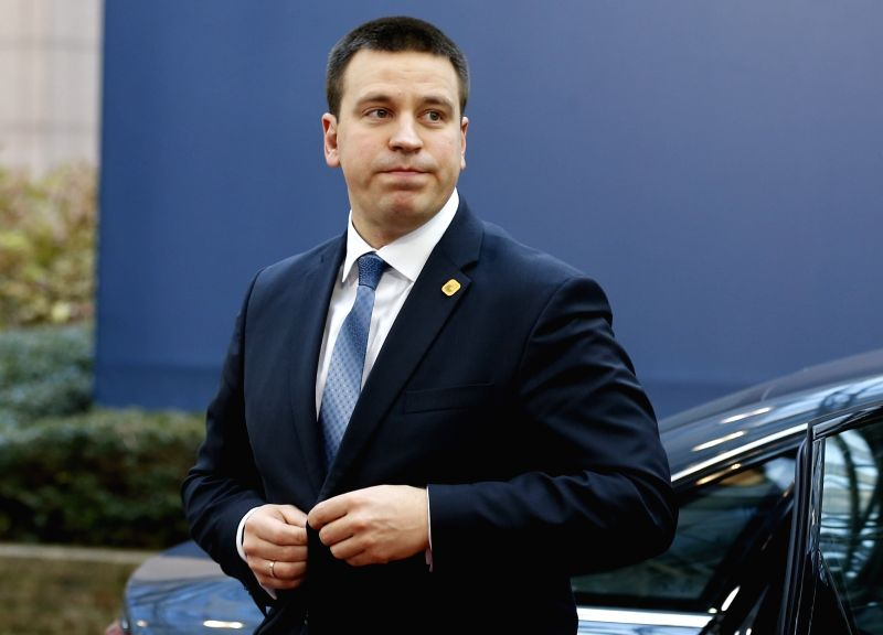 Estonia Prime Minister Juri Ratas. (File Photo: IANS) - Juri Ratas