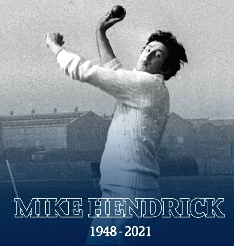Ex-England pacer Hendrick, who shook India in 1974, no more (Credit: Derbyshire County Cricket Club)