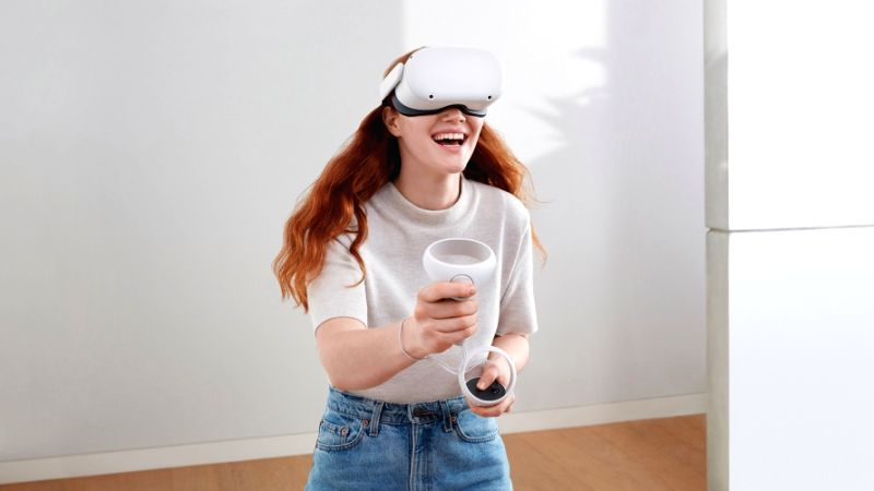 Facebook Oculus Quest 2 VR headset now available for $299.