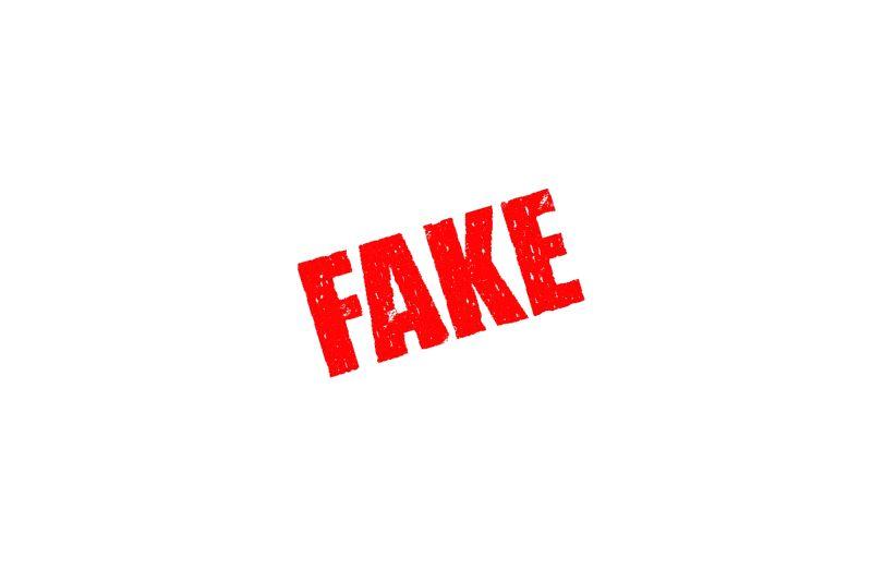 Fake.(Image Source: IANS News)