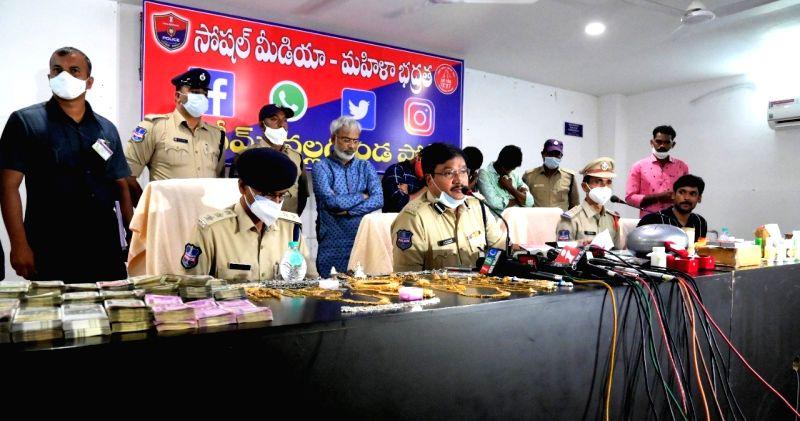 fake godman held in Telangana