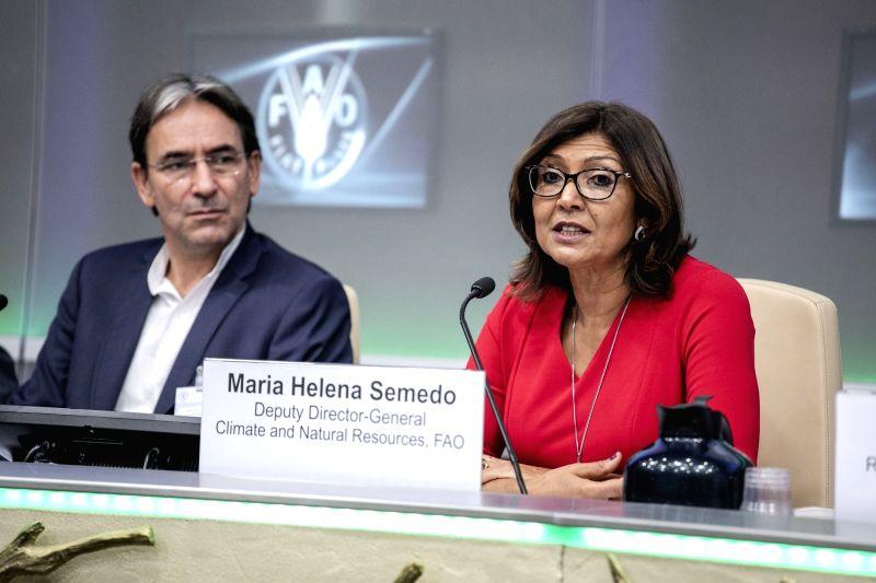 FAO Climate and Natural Resources Deputy Director-General Maria Helena Semedo. (Photo: IANS/FAO)