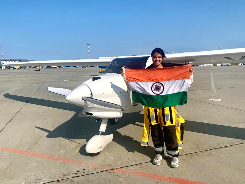 Far Eastern: Mumbai girl Aarohi Pandit, currently on a global flight in a small plane, on Wednesday created history by becoming the first woman pilot to cross both Atlantic Ocean and Pacific Ocean solo in a Light Sports Aircraft, on Aug 21, 2019. Fly