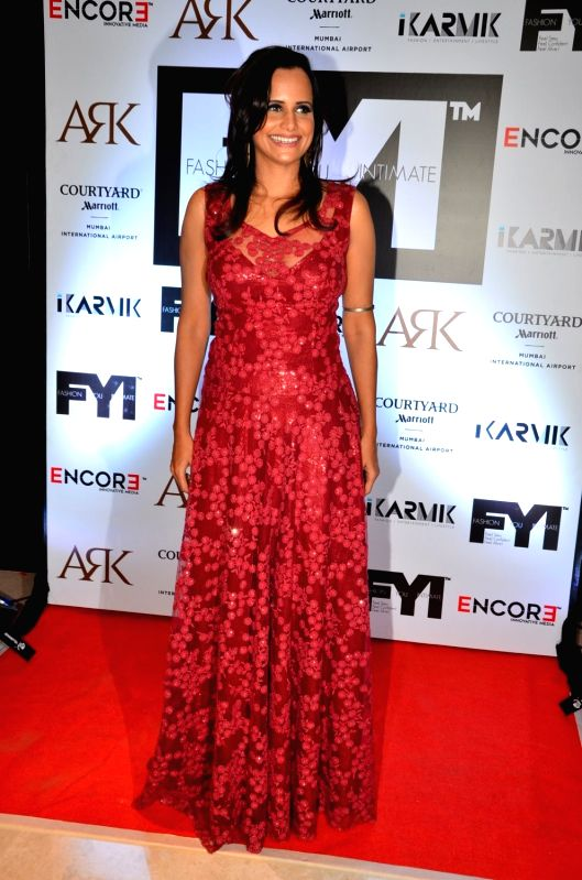 Fashion Choreographer Nisha Harale during the launch of FYI Magazine May issue, in Mumbai on May 7, 2016.