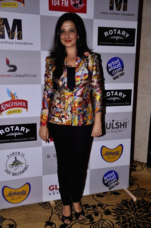 Fashion designer Amy Billimoria during the Medha Jalota's birthday party in Mumbai on June 25, 2014.