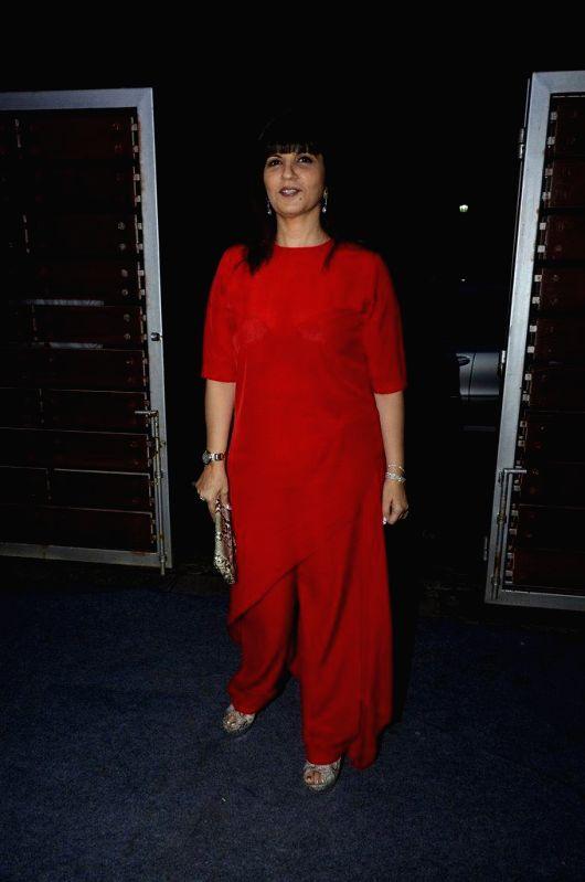 Fashion designer Neeta Lulla during the launch of fashion designer Pria Kataaria Puris store in Mumbai, on Aug 28, 2014.