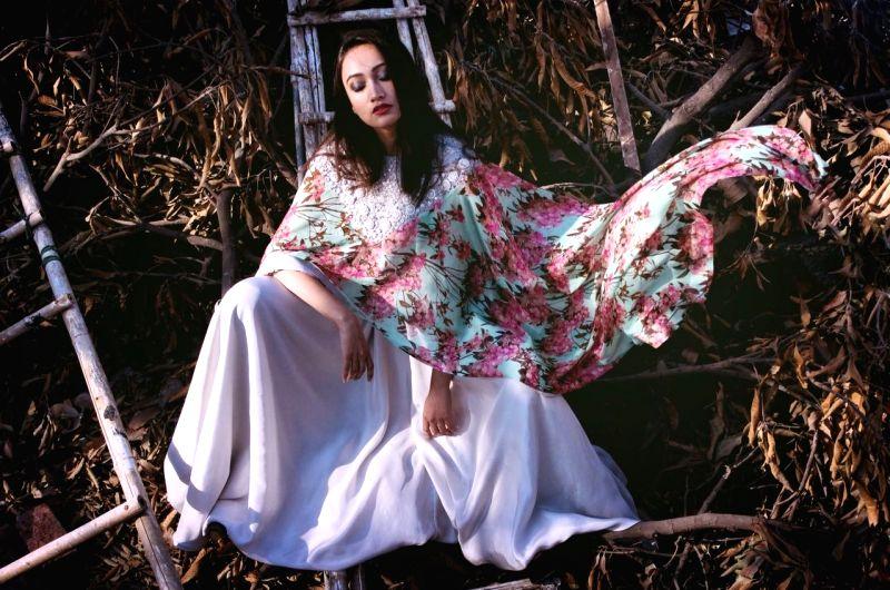 Fashion designer Pooja Shroff's latest collection Plis Et Dentelle.