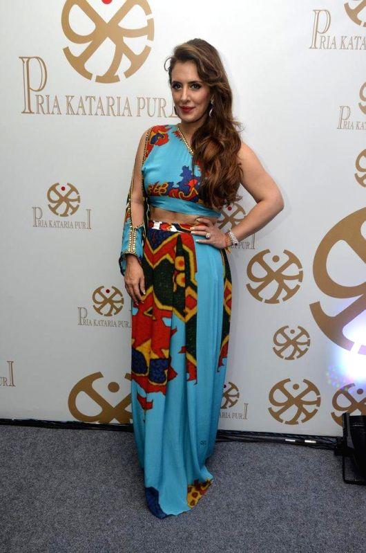 Fashion designer Pria Kataaria Puri during the launch of her store during the launch of fashion designer Pria Kataaria Puris store in Mumbai, on Aug 28, 2014.