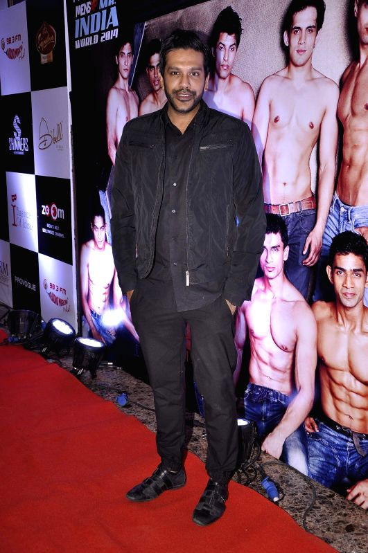 Fashion designer Rocky S during the Provogue Mr India 2014 finale in Mumbai, on May 8, 2014.