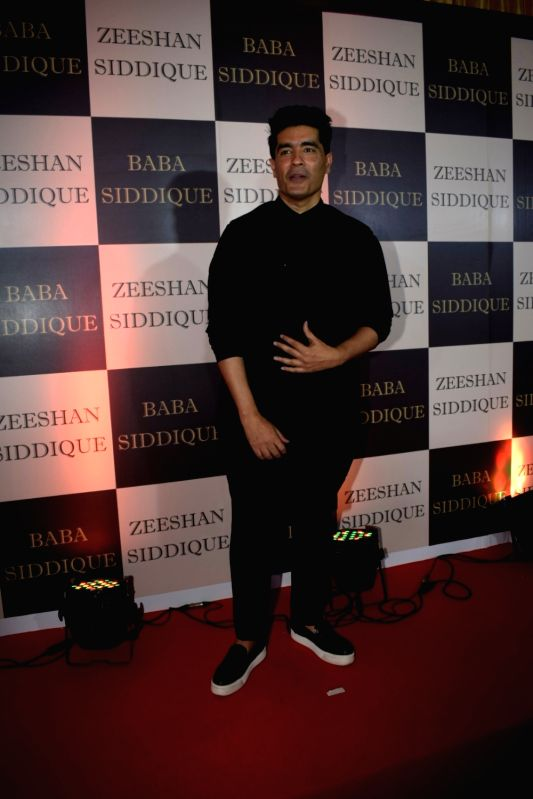 Fashion Desinger Manish Malhotra at politician Baba Siddique's iftar party in Mumbai on June 10, 2018. - Desinger Manish Malhotra