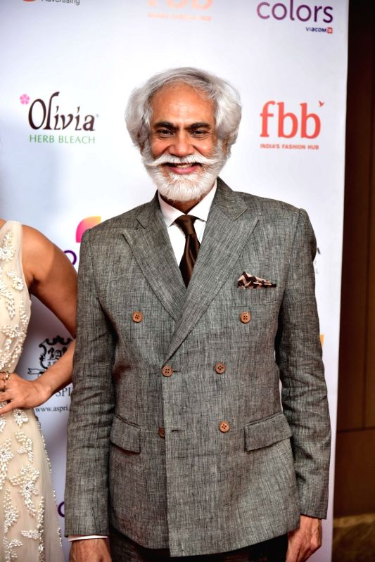 FDCI President Mr. Sunil Sethi during the Femina Miss India North 2017 in New Delhi on April 16, 2017.