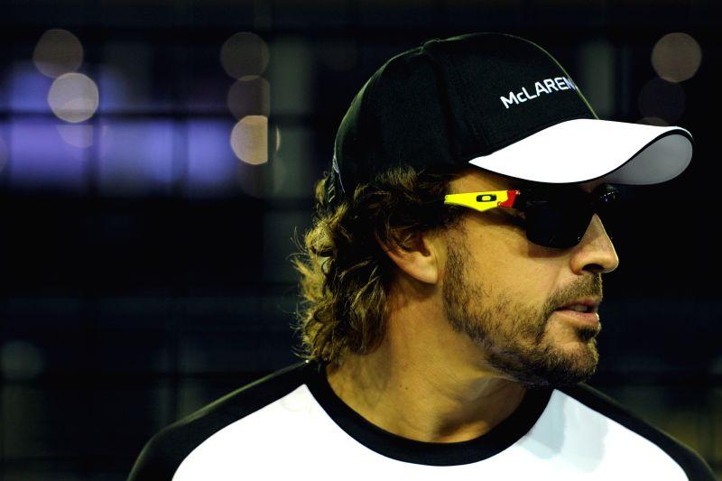 Fernando Alonso. (Xinhua/Then Chih Wey/IANS)