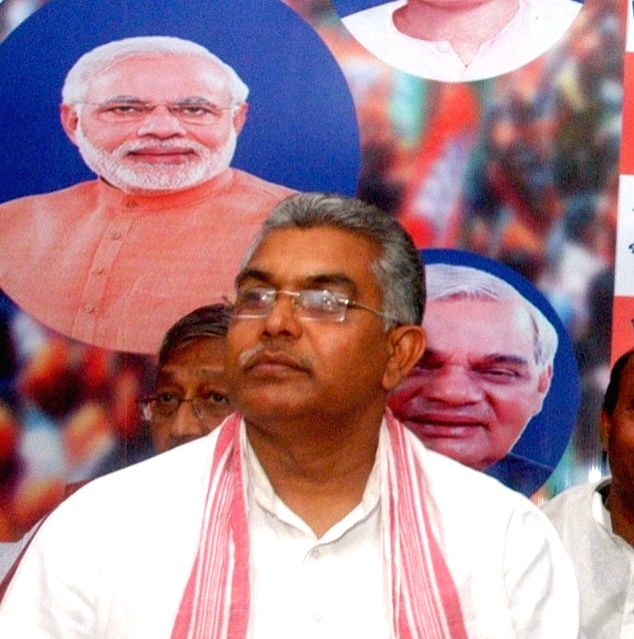 File photo :  BJP West Bengal president Dilip Ghosh. (File Photo: IANS) - Dilip Ghosh