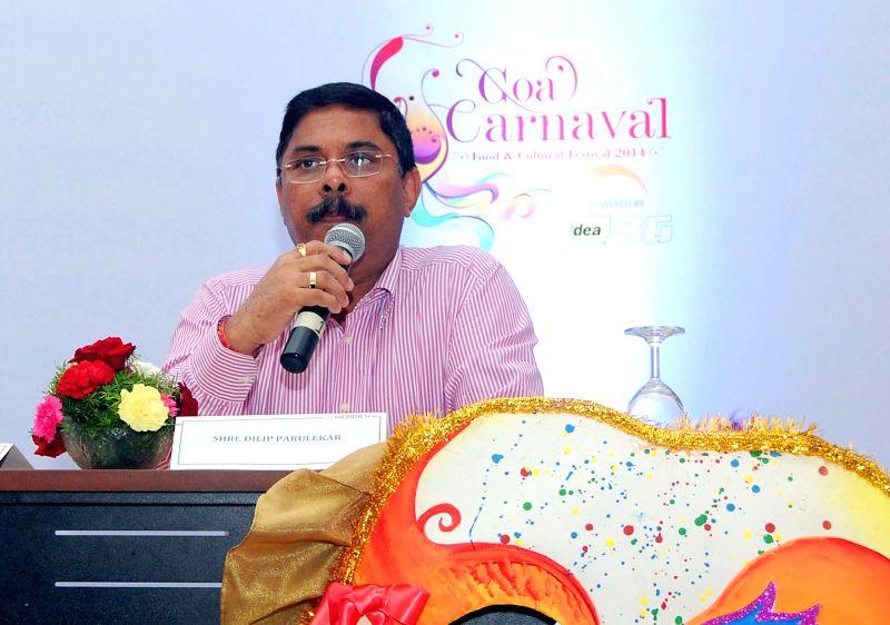 File photo :  Goa Tourism Minister Dilip Parulekar. (File Photo: IANS) - Dilip Parulekar
