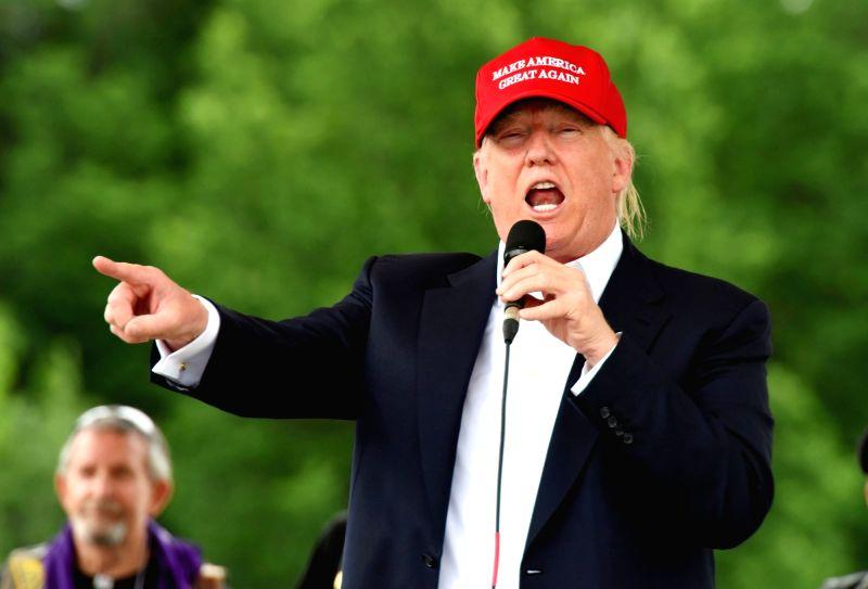 File photo :Republican presidential candidate Donald Trump. (File Photo: IANS)