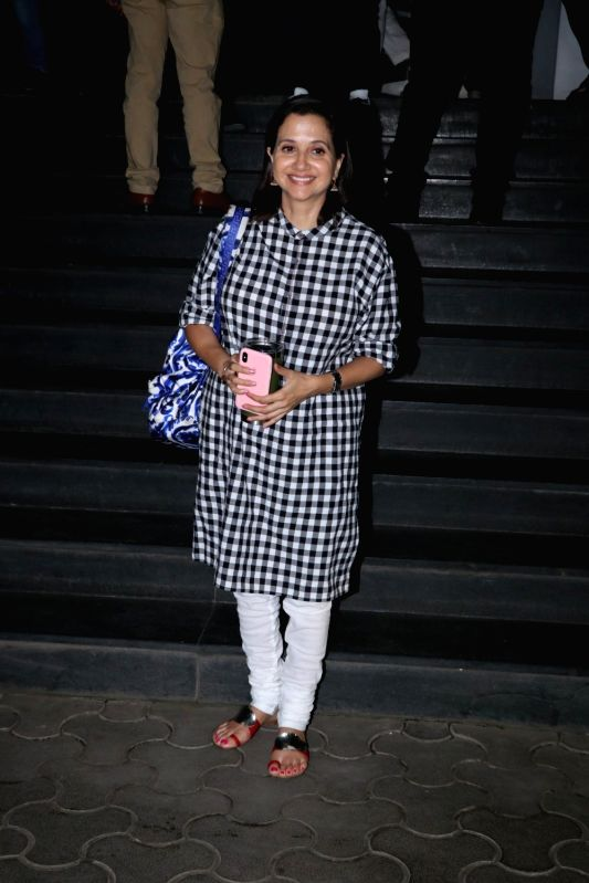 "Film critic Anupama Chopra at the special screening of film ""Mulk"" in Mumbai on Aug 2, 2018. - Anupama Chopra"