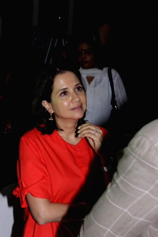 Film Critic Anupama Chopra during the announcement of new war epic original video series by Amazon in Mumbai on April 11, 2017. - Critic Anupama Chopra