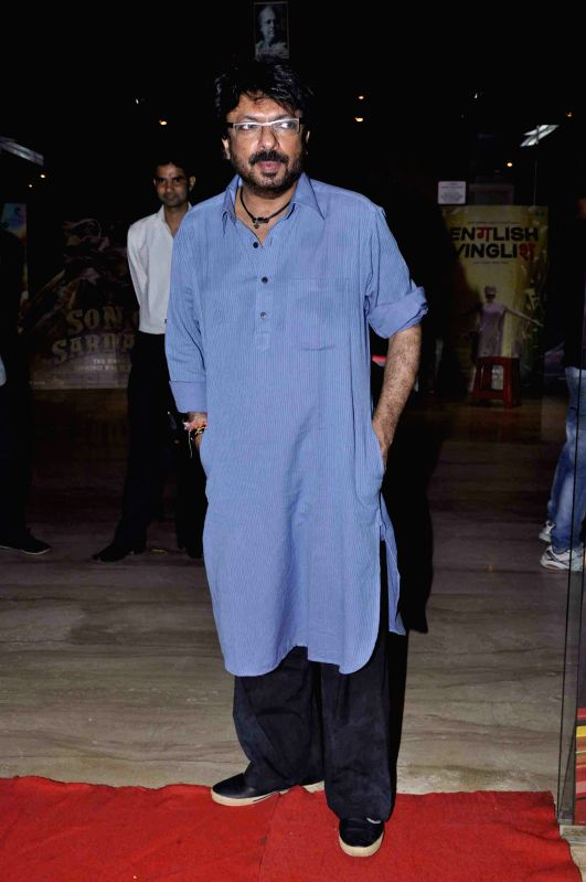 ": Film director Sanjay Leela Bhansali at the special screening of  ""Shirin Farhad Ki Toh Nikal Padi"". (Photo: IANS)."