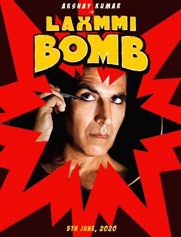 """Film """"Laxmmi Bomb"""" poster."""
