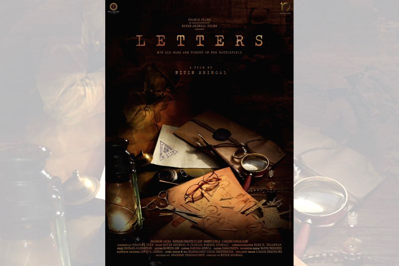 "Film poster of Nitin Shingal's ""Letters""."
