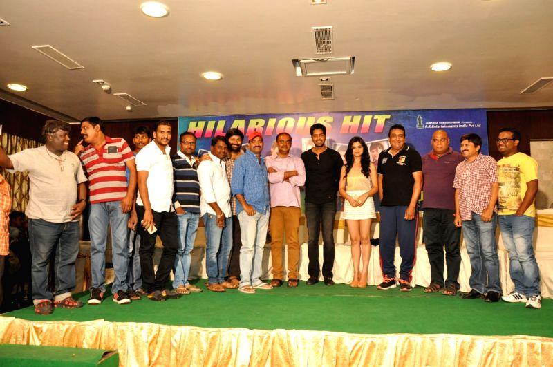Film Selfie Raja success meet.