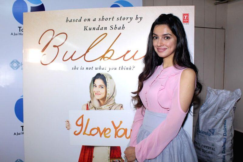 "Filmmaker-actress Divya Khosla Kumar at the trailer launch of her upcoming short film ""Bulbul"" in Mumbai on Dec 6, 2017. - Divya Khosla Kumar"