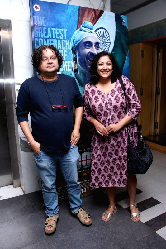 "Filmmaker Amole Gupte at the screening of ""Soorma"" in Mumbai on July 13, 2018. - Amole Gupte"