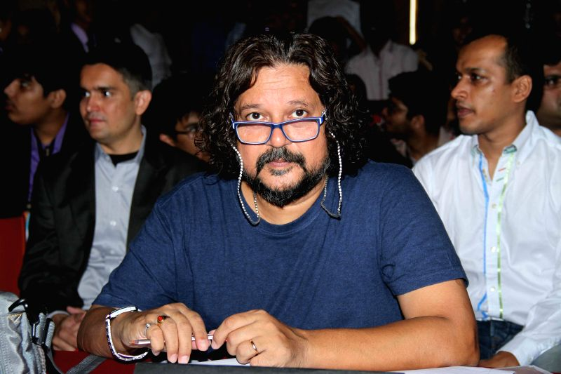 Filmmaker Amole Gupte during Jamnabai Narsee School`s inter school festival, in Mumbai, on Aug. 24, 2014. - Amole Gupte