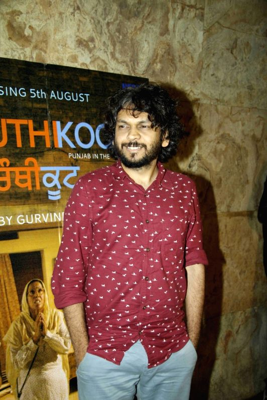 Filmmaker Anand Gandhi during the special screening of Punjabi film Chauthi Koot in Mumbai on Aug 1, 2016. - Anand Gandhi
