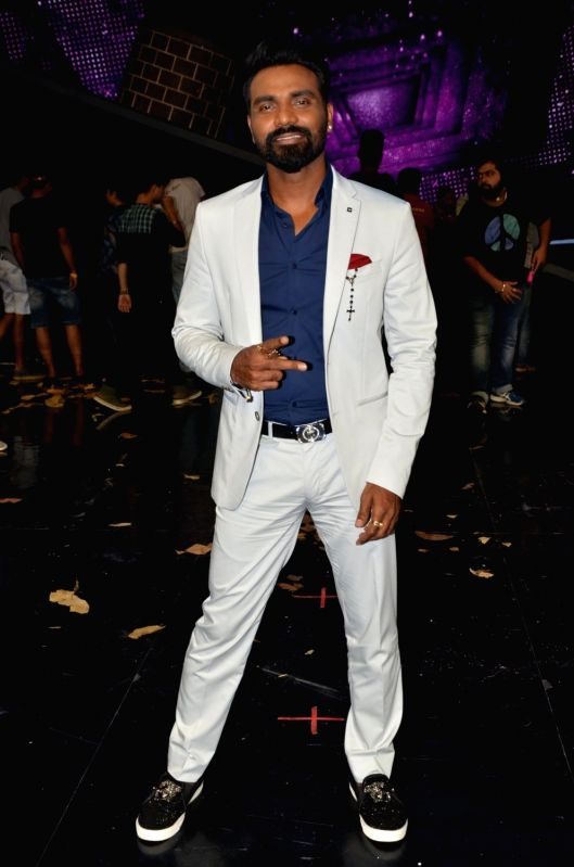 Filmmaker and choreographer Remo D`Souza on the sets of Star Plus dance reality show Dance+ (Dance Plus) season 2 to promote upcoming film A Flying Jatt, in Mumbai on July 19, 2016.