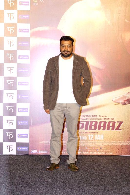"""Mukkabaaz"""" trailer launch - Anurag Kashyap - Anurag Kashyap"""