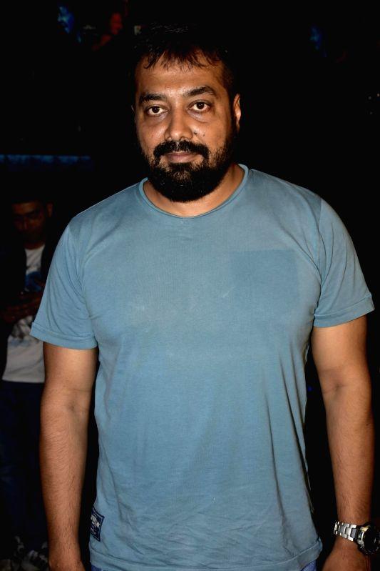 Filmmaker Anurag Kashyap during launch of song, Qatl-e-Aam from film Raman Raghav 2.0, in Mumbai on June 03, 2016. - Anurag Kashyap