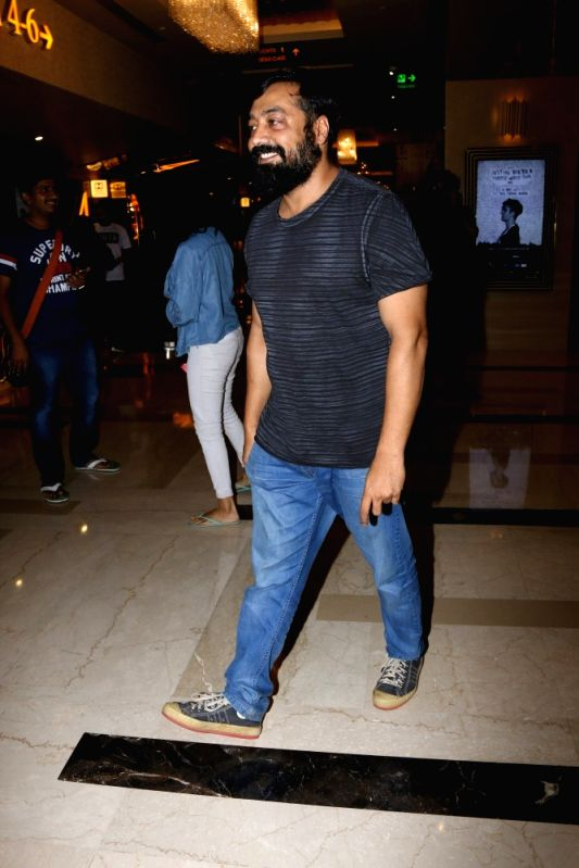 "Filmmaker Anurag Kashyap during the special screening of Fr​e​nch film ""Felicite"" in Mumbai on April 26, 2017.​ ""Felicite"" was released in February 2017.​ - Anurag Kashyap"