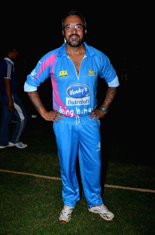 Filmmaker Apoorva Lakhia during the Corporate Cricket Match Season 2, in Mumbai, on Oct 26, 2015. - Apoorva Lakhia