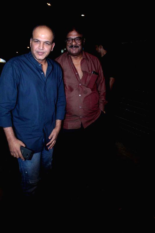 Filmmaker Ashutosh Gowariker during the success party of the film Ventilator in Mumbai on April 25, 2017. - Ashutosh Gowariker