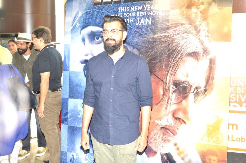Filmmaker Bejoy Nambiar during the trailer launch of film Wazir in Mumbai on Nov 18, 2015. - Bejoy Nambiar