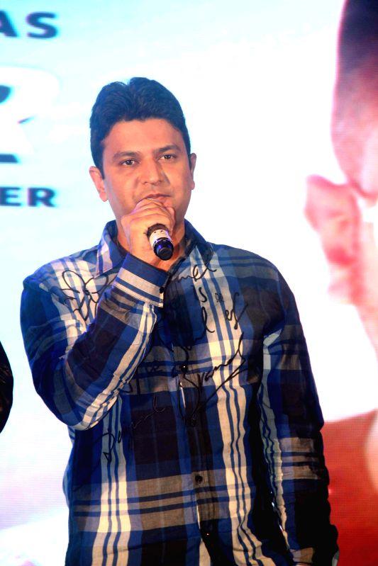 Filmmaker Bhushan Kumar during the launch of new music album Desi Kalakaar in Mumbai on Aug. 26, 2014. - Bhushan Kumar