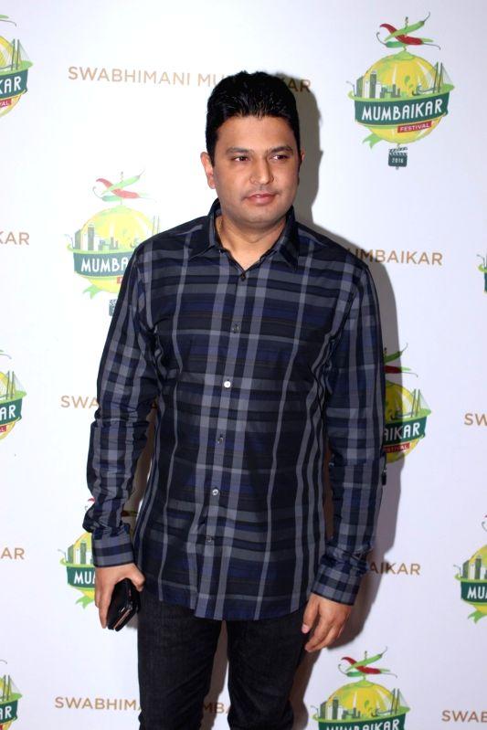 Filmmaker Bhushan Kumar during the Mumbaikar Festival 2016, in Mumbai, on June 3, 2016. - Bhushan Kumar