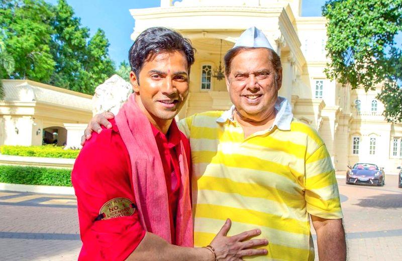 Varun Dhawan has penned a birthday wish for David Dhawan