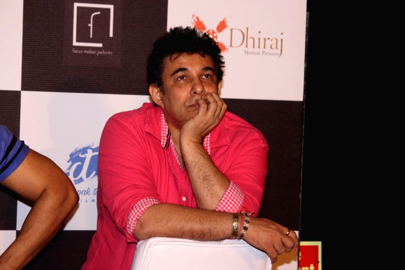 Filmmaker Deepak Tijori during the trailer launch of film Do Lafzon ki Kahani, in Mumbai, on June 2, 2016. - Deepak Tijori