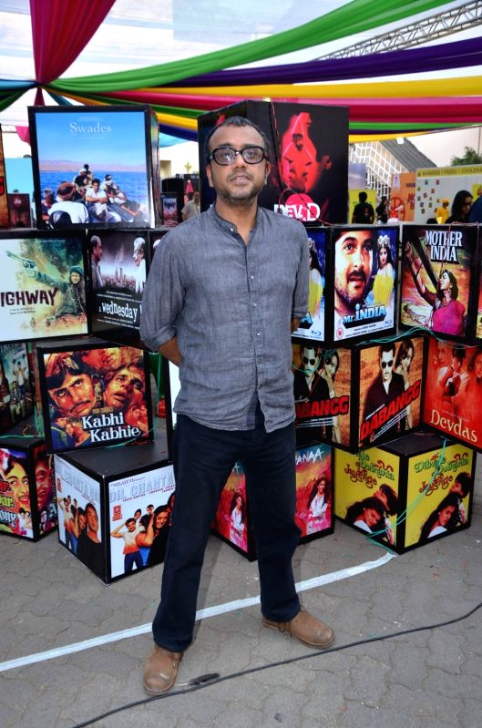 Filmmaker Dibakar Banerjee at the 2nd day of Jio MAMI 17th Mumbai Film Festival, in Mumbai on Oct. 31, 2015. - Dibakar Banerjee