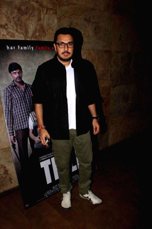 Filmmaker Dinesh Vijan during a special screening of film Titli in Mumbai, on Oct 28, 2015. - Dinesh Vijan