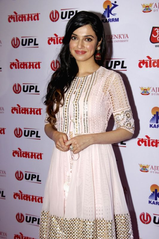 Filmmaker Divya Khosla Kumar arrives to attend the 4th edition Lokmat Maharashtrian of The Year 2017 in Mumbai on April 11, 2017. - Divya Khosla Kumar