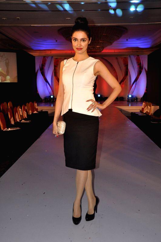 Filmmaker Divya Khosla Kumar during the Chrysalis fashion show in Mumbai, on April 25, 2014. - Divya Khosla Kumar