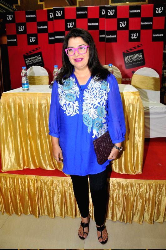 Filmmaker Farah Khan at the launch of Sonia Golani's book `Decoding Bollywood` in Mumbai. - Farah Khan