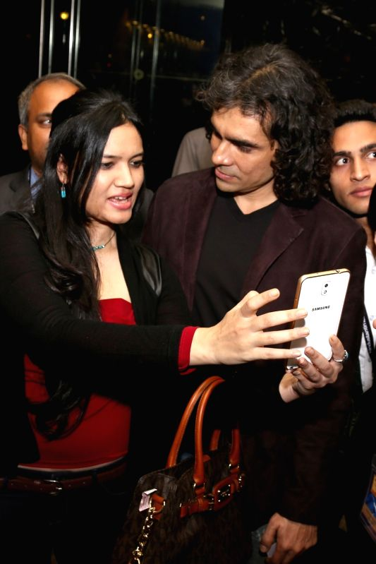 Filmmaker Imtiaz Ali  at the HT Summit 2015 in New Delhi, on Dec 4, 2015.